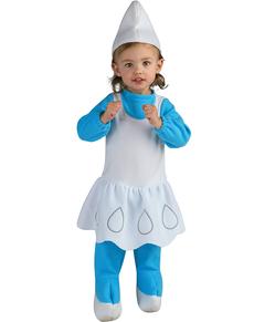 Smurfin kostuum voor baby