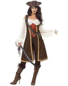 Piraat Meid van de Oceaan kostuum