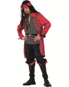 Heldhaftig piratenkostuum voor mannen