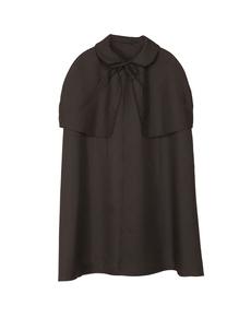 Zwarte cape