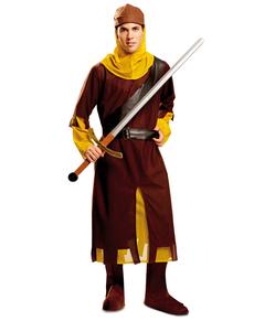 Kostuum rechtvaardige ridder voor mannen