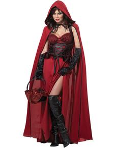Kostuum duister kapje voor vrouwen